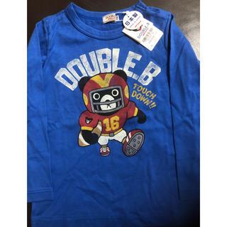 ダブルビー(DOUBLE.B)のダブルB 長袖Tシャツ 110cm(Tシャツ/カットソー)
