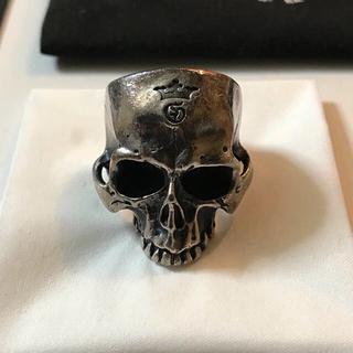 ガボール(Gabor)のガボラトリー Large Skull Ring without jaw 20号(リング(指輪))