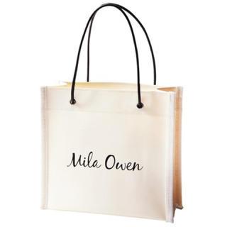 ミラオーウェン(Mila Owen)のJJ 1月号 付録 【ミラオーウェン】 ロゴ入りトートバッグ(トートバッグ)