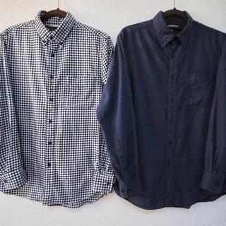 UNIQLO - ユニクロ フランネルシャツ 2枚セット Mサイズ