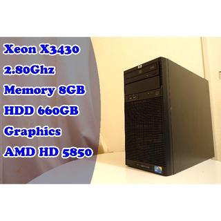 ヒューレットパッカード(HP)の★プチゲーミングPC★ メモリ8GB Adobeにもお勧め(デスクトップ型PC)