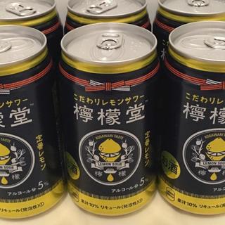 コカコーラ(コカ・コーラ)の檸檬堂 定番レモン 6本(リキュール/果実酒)