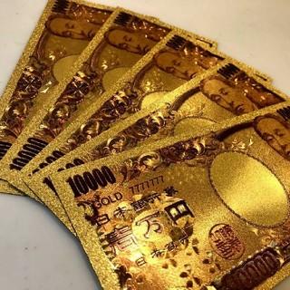 最高品質限定特価!純金24k1万円札3枚セット☆ブランド財布やバッグに☆(財布)