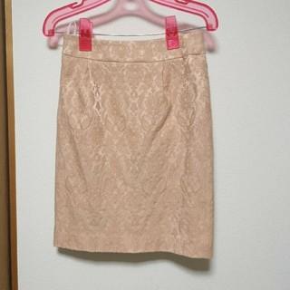 クードシャンス(COUP DE CHANCE)のクードシャンス ジャガードスカート(ひざ丈スカート)