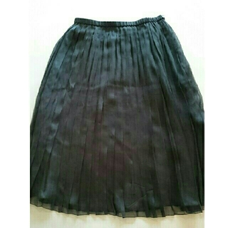 ドゥロワー(Drawer)のDrawer シルクオーガンジープリーツスカート(ひざ丈スカート)