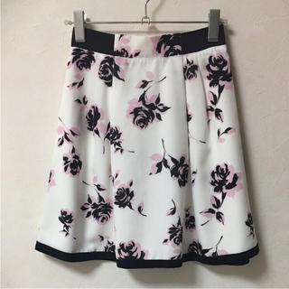 アプワイザーリッシェ(Apuweiser-riche)の花柄スカート レッセパッセ ミッシュマッシュ レストローズ スナイデル(ひざ丈スカート)