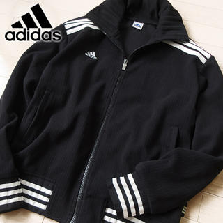 アディダス(adidas)の美品 L-Oサイズ アディダス 80'sデサントタグ メンズ ジャケット(ブルゾン)