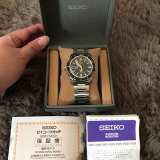 SEIKO - SEIKOセイコー❤︎ダイバーズウォッチ箱保証書付❤︎新品同様❤︎