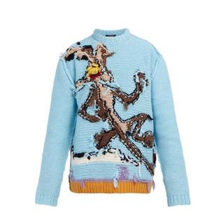 カルバンクライン(Calvin Klein)のS 新品正規品 CALVIN KLEIN 205W39NYC ニット セーター(ニット/セーター)