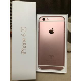 アップル(Apple)のiPhone 6s Rose Gold 16 GB au(スマートフォン本体)
