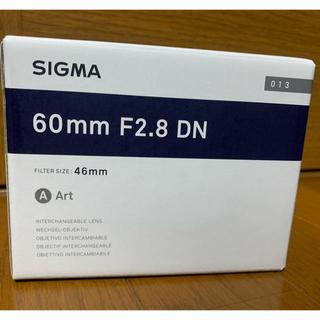 シグマ(SIGMA)のSIGMA シグマ レンズ 60mm F2.8 DN(レンズ(単焦点))