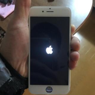 アップル(Apple)のiphone 6 の パネル  白(スマートフォン本体)