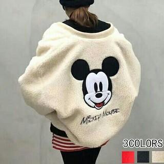 Disney - ディズニー ミッキー ボアブルゾン Disney mickey ジャケット