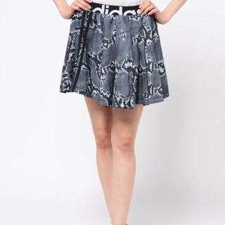 アディダス(adidas)のadidas♡ゼブラ柄スカート♡XXL(ミニスカート)