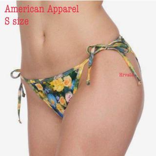 アメリカンアパレル(American Apparel)の試着のみ:アメリカンアパレル 花柄紐ビキニボトム(水着)