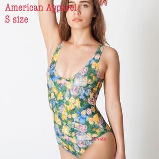 アメリカンアパレル(American Apparel)の試着のみ: アメリカンアパレル 花柄ワンピース水着(水着)