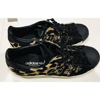adidas - 美品 adidas originals 豹柄 スニーカー レオパード 24cm