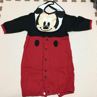 Disney - ベビーミッキー 2ウェイオール 60〜70cm