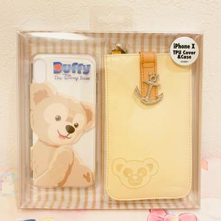 Disney - 香港♡ディズニー♡ダッフィー♡iPhoneX♡ケース♡カバー