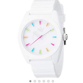 アディダス(adidas)の【新品未使用】adidas 腕時計 白(腕時計)
