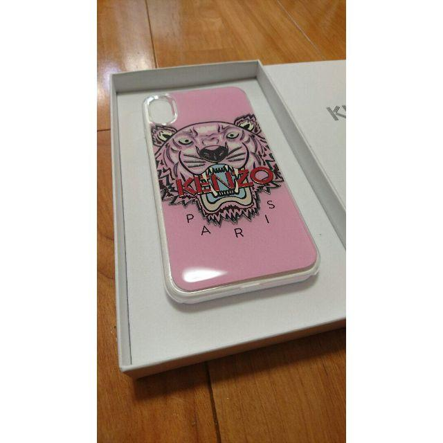 KENZO - 新品正規品 KENZO iPhoneX/XSケースタイガーピンクの通販 by ビスケショップ|ケンゾーならラクマ