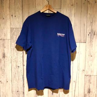 バレンシアガ(Balenciaga)のUSED BALENCIAGA キャンペーンロゴ Tシャツ(Tシャツ/カットソー(半袖/袖なし))