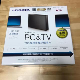 アイオーデータ(IODATA)のIODATA 外付けHDD 4TB USB3.0/2.0接続(その他)
