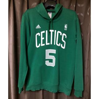アディダス(adidas)のNBA CELTICS GARETT選手#5 プルオーバー(バスケットボール)