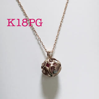 K18PG アミュレットネックレス♡(ネックレス)