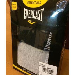 エバーラスト(EVERLAST)の新品 EVERLAST  エバーラスト ボクサーパンツ XL 2枚 未開封(ボクサーパンツ)