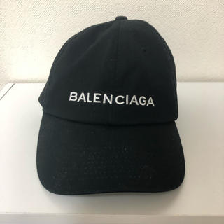 バレンシアガ キャップ 黒