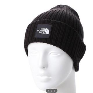 THE NORTH FACE - ノースフェイス ニット帽 ブラック新品