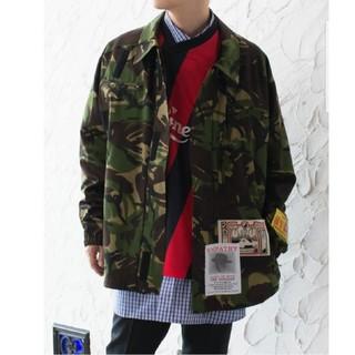 バレンシアガ(Balenciaga)のmartine rose camo jackets(ミリタリージャケット)