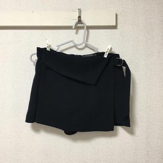 ザラ(ZARA)のzara ザラ/ショートパンツ スカート風ショートパンツ ネイビー(ショートパンツ)