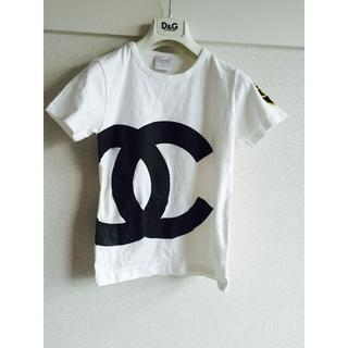 CHANEL - ホワイト可愛い半袖Tシャツ新品