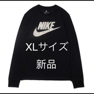 ナイキ(NIKE)の新品 未使用 NIKE ロンT cocoa snake XL 蛇柄 長袖(Tシャツ/カットソー(七分/長袖))
