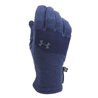 アンダーアーマー(UNDER ARMOUR)のアンダーアーマー 手袋 グローブ MD ネイビー グラファイト 防寒 ストーム(手袋)