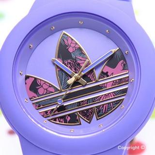 アディダス(adidas)のadidas ADH3016 パープル時計(腕時計(アナログ))