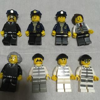 Lego - レゴ 8体セット ドロボウ&警察官セット ミニフィグ
