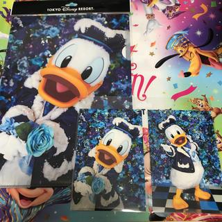 ディズニー(Disney)のクリアホルダーポストカード(クリアファイル)