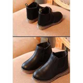 【ブラック】ブーツ★靴★シューズ★子供靴 マーテン靴風(ブーツ)