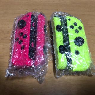 ニンテンドースイッチ(Nintendo Switch)の【新品】スイッチ joy con コントローラー  ピンク  イエロー(その他)