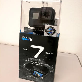 ゴープロ(GoPro)の新品 GoPro HERO7 BLACK CHDHX-701-FW(ビデオカメラ)