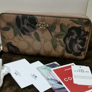コーチ(COACH)のCOACH 26290花柄可愛く上品な長財布プレゼントにも(財布)