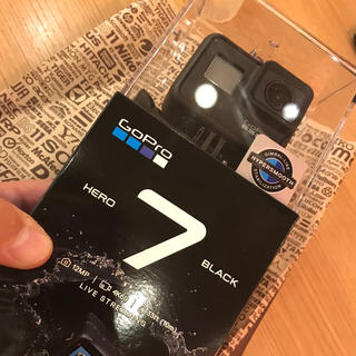 ゴープロ(GoPro)の 新品未開封 GoPro HERO7 本体 BLACK CHDHX-701-FW(ビデオカメラ)