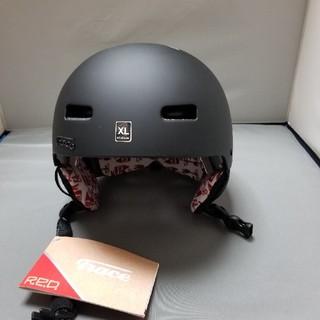 BURTON - スノーボード ヘルメット RED trace XLsize 送料込み