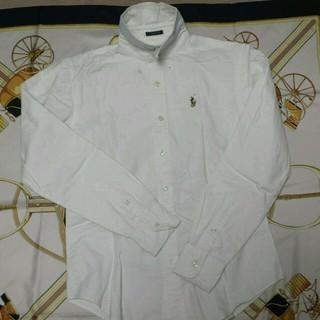 ラルフローレン(Ralph Lauren)の定番 OXフォードシャツ白(シャツ/ブラウス(長袖/七分))