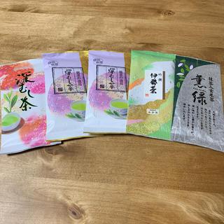 お茶の葉 5袋(茶)