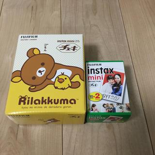 新品未使用☆チェキ instax mini 25(フィルムカメラ)