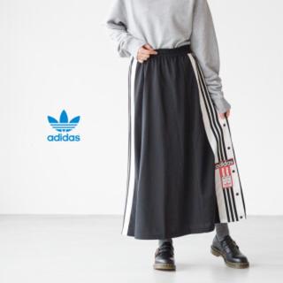 アディダス(adidas)のadidas originals   M アディブレイク スカート(ロングスカート)